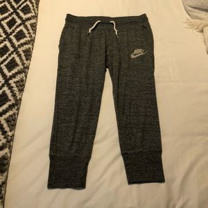 Nike cropped sweats